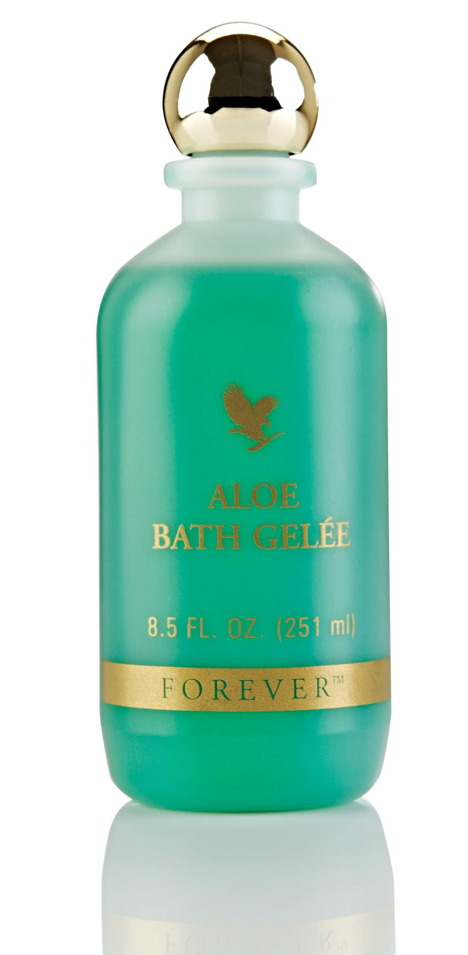 Gelul de dus din aloe vera - Aloe Bath Gelee