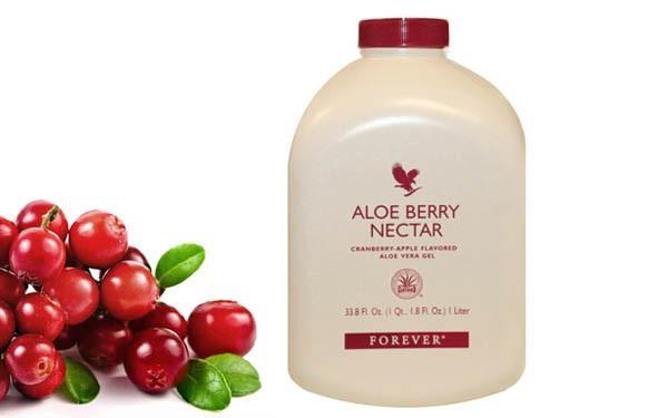 Forever Aloe Berry Nectar ideal pentru antioxidantii continuti