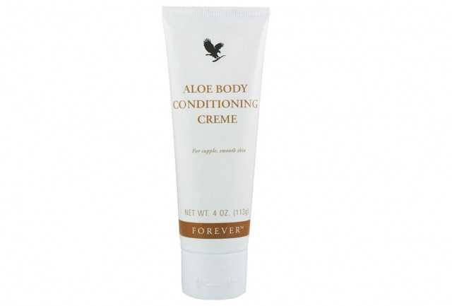 Aloe Body Conditioning Creme contine aloe vera