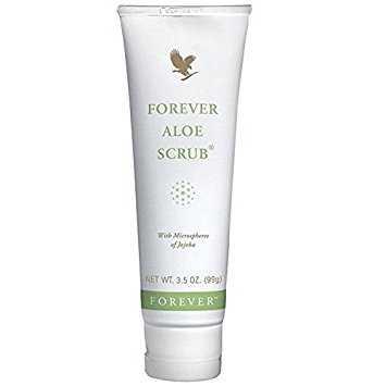 Forever Aloe Scrub curata si indeparteaza celulele moarte