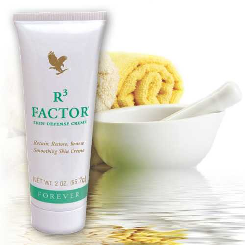 Forever R3 Factor Skin Defense reface textura pielii